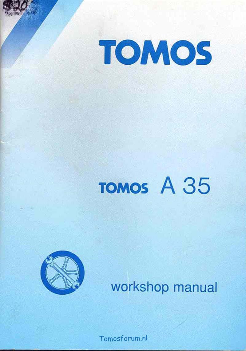 Verrassend Werkplaats handleiding Tomos A35@wiki - Tomos forum DQ-98