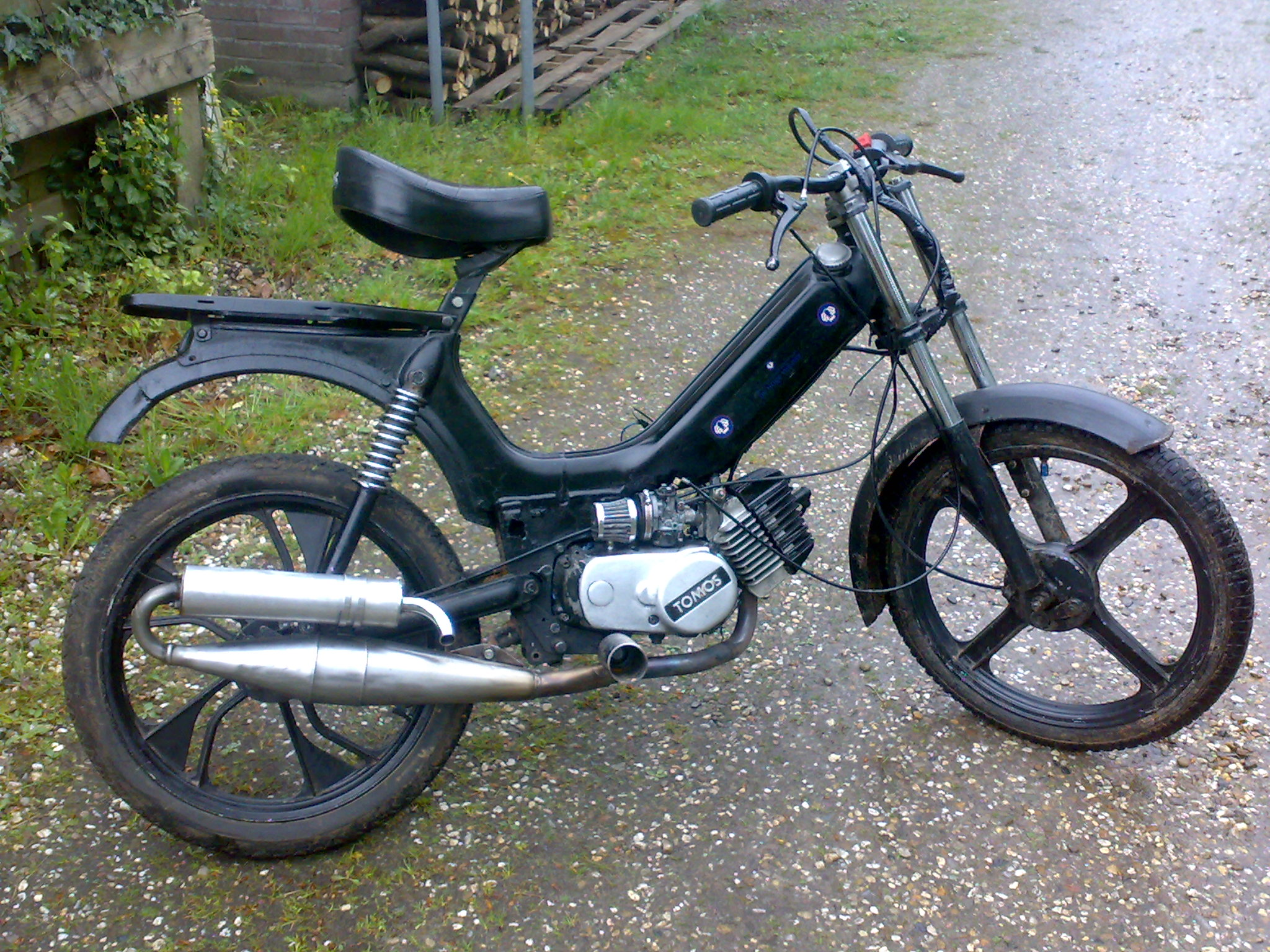 Tomos setup tabel