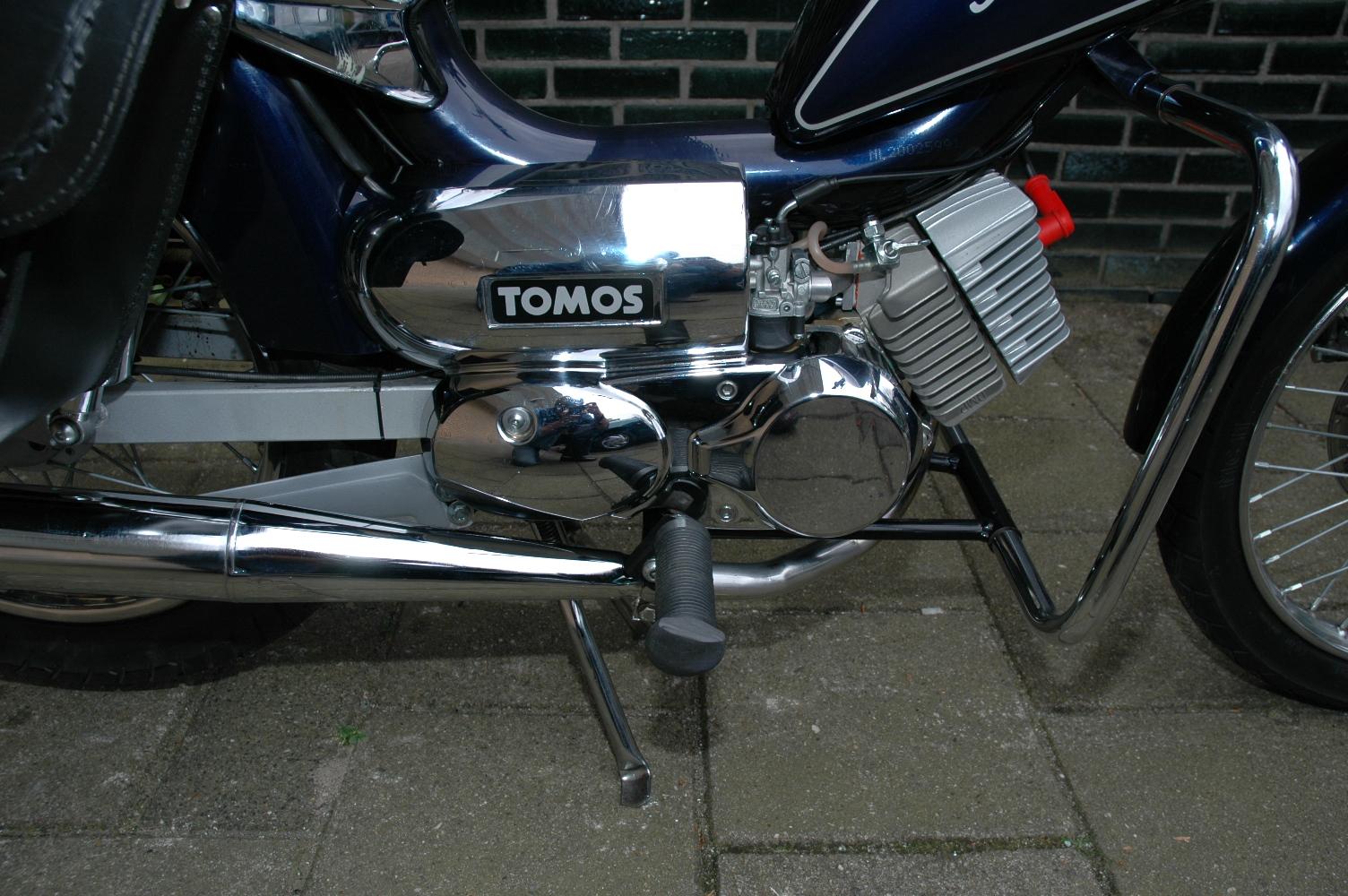 Tomos setup tabel